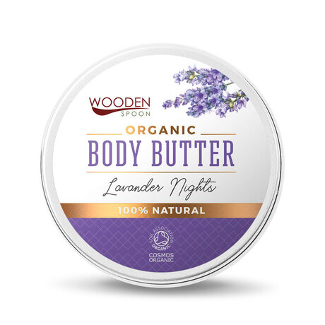 Масло за тяло Lavender Nights, Wooden Spoon, 100ml